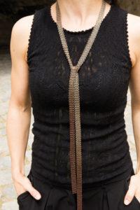Pascale Lion colliers ceinture neckclaces belt 140 Nuance NEW OOOO 2020
