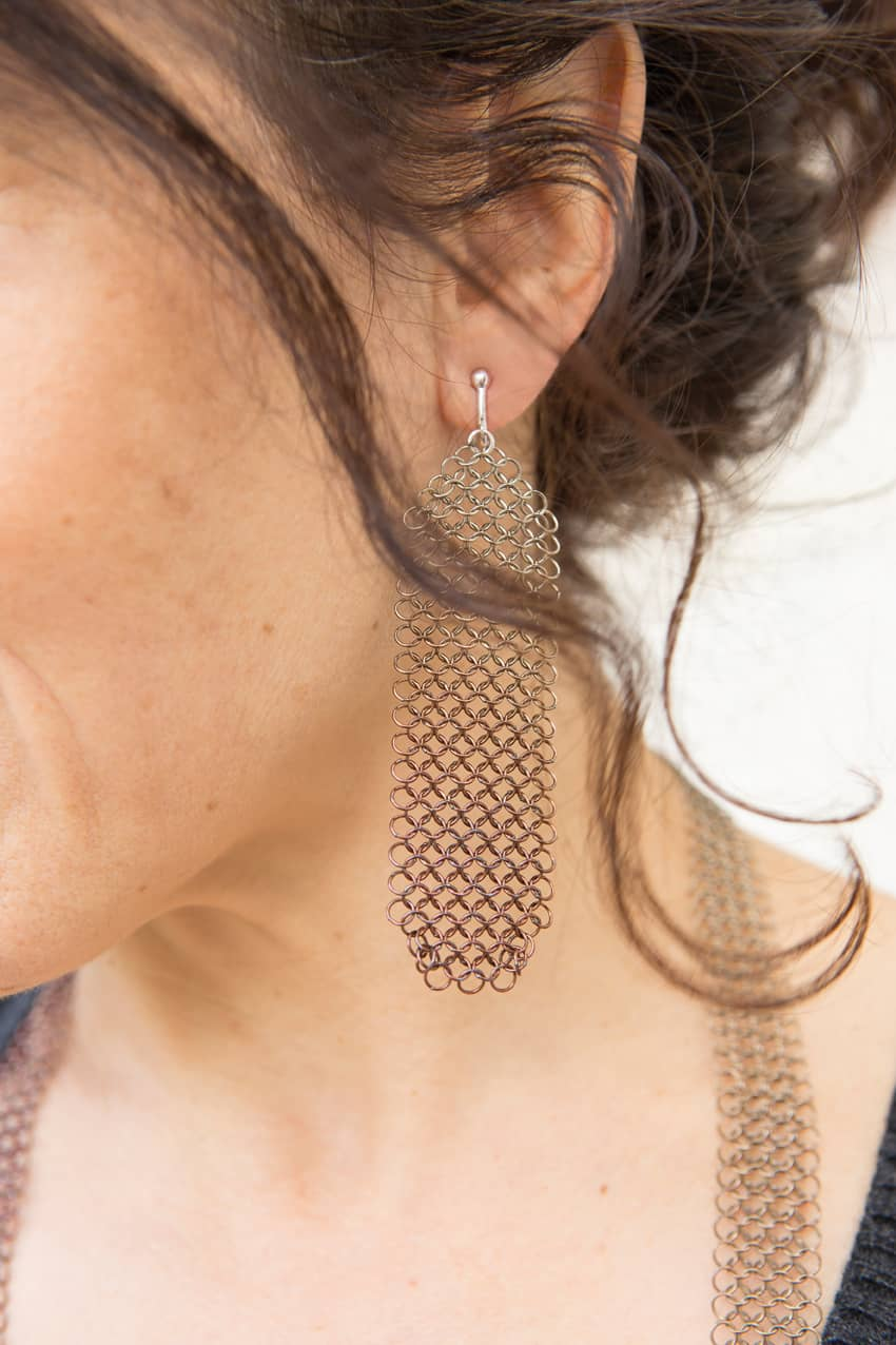 La collection nuance crée en 2020 - boucles d'oreilles - Pascale LION